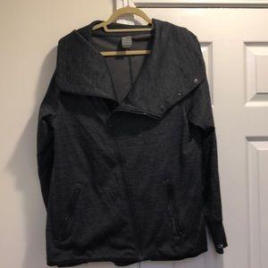 Champion zip up jacket XL